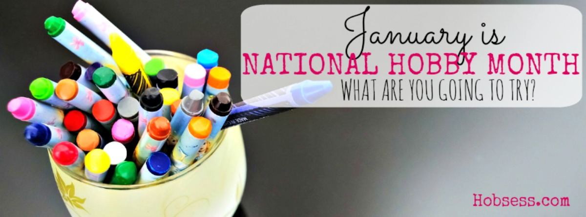 January is National Hobby Month!