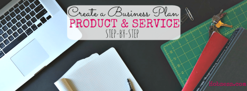 Business Plan for Products & Services