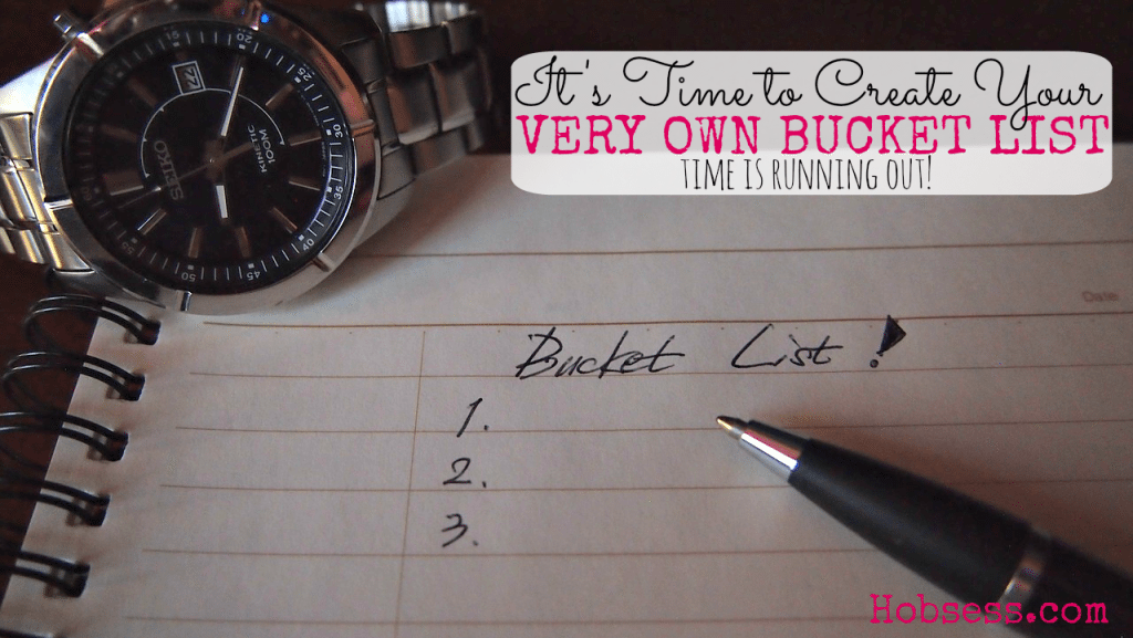 Create Your Bucket List!