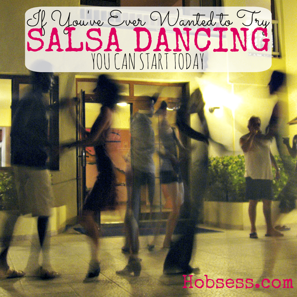 Try Salsa Dancing