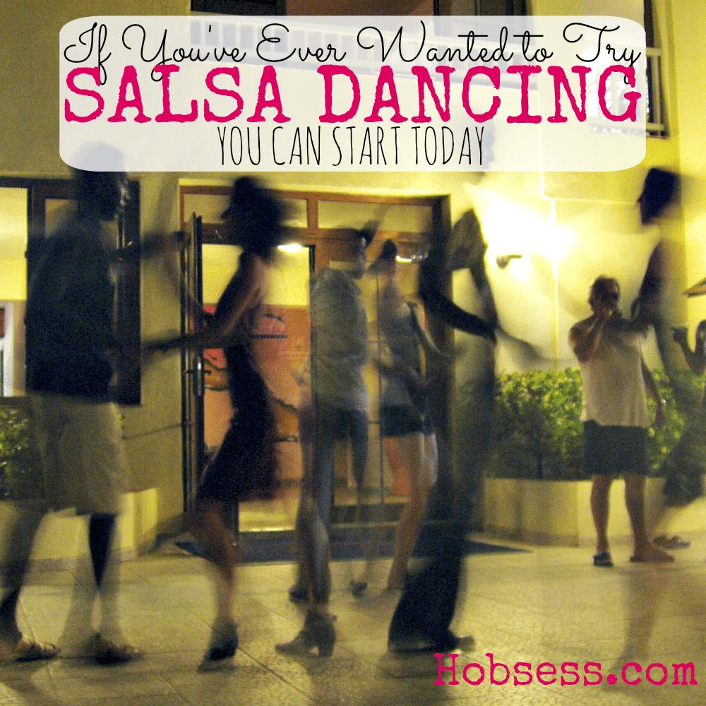 Try Salsa Dancing