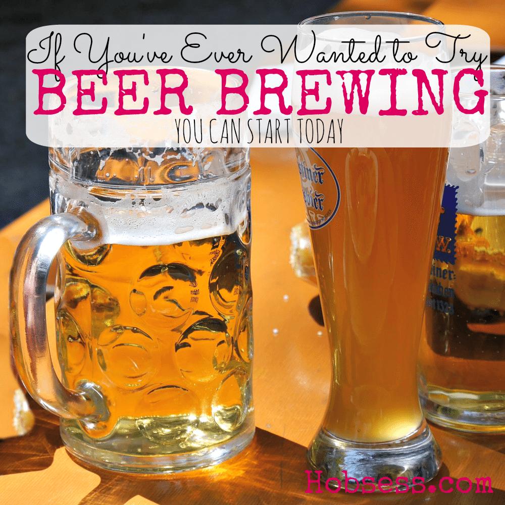 Try Beer Brewing