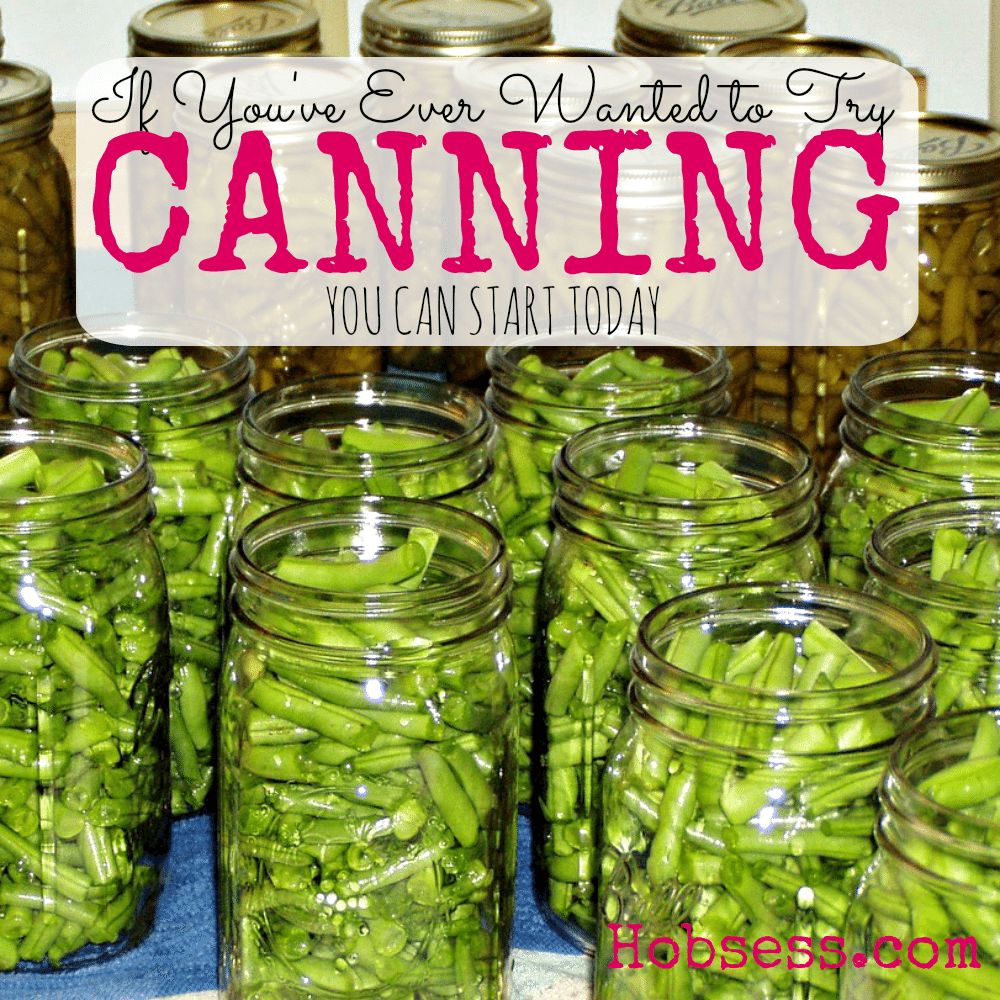 Try Canning