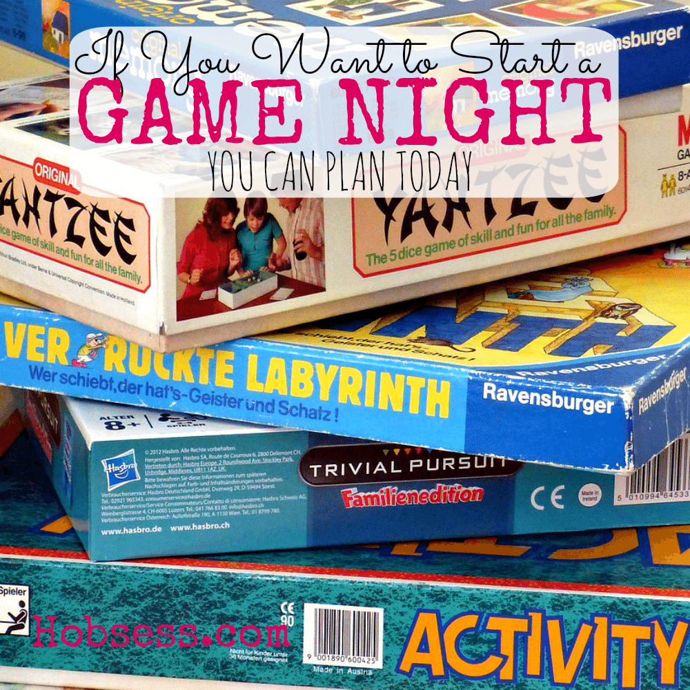 Start a Game Night