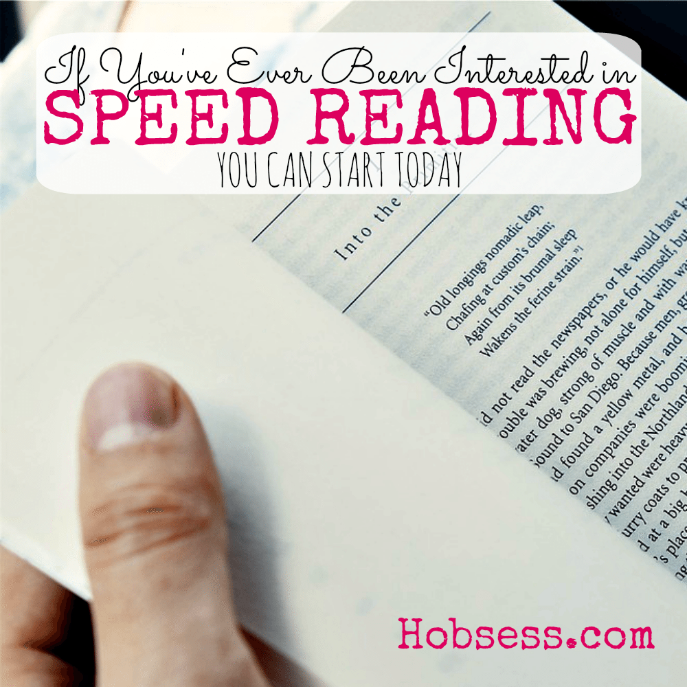 Learn Speed Reading