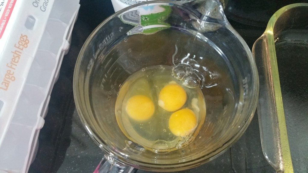 Beat 3 Eggs