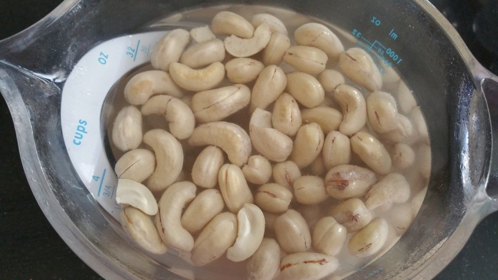 Soak Cashews Overnight