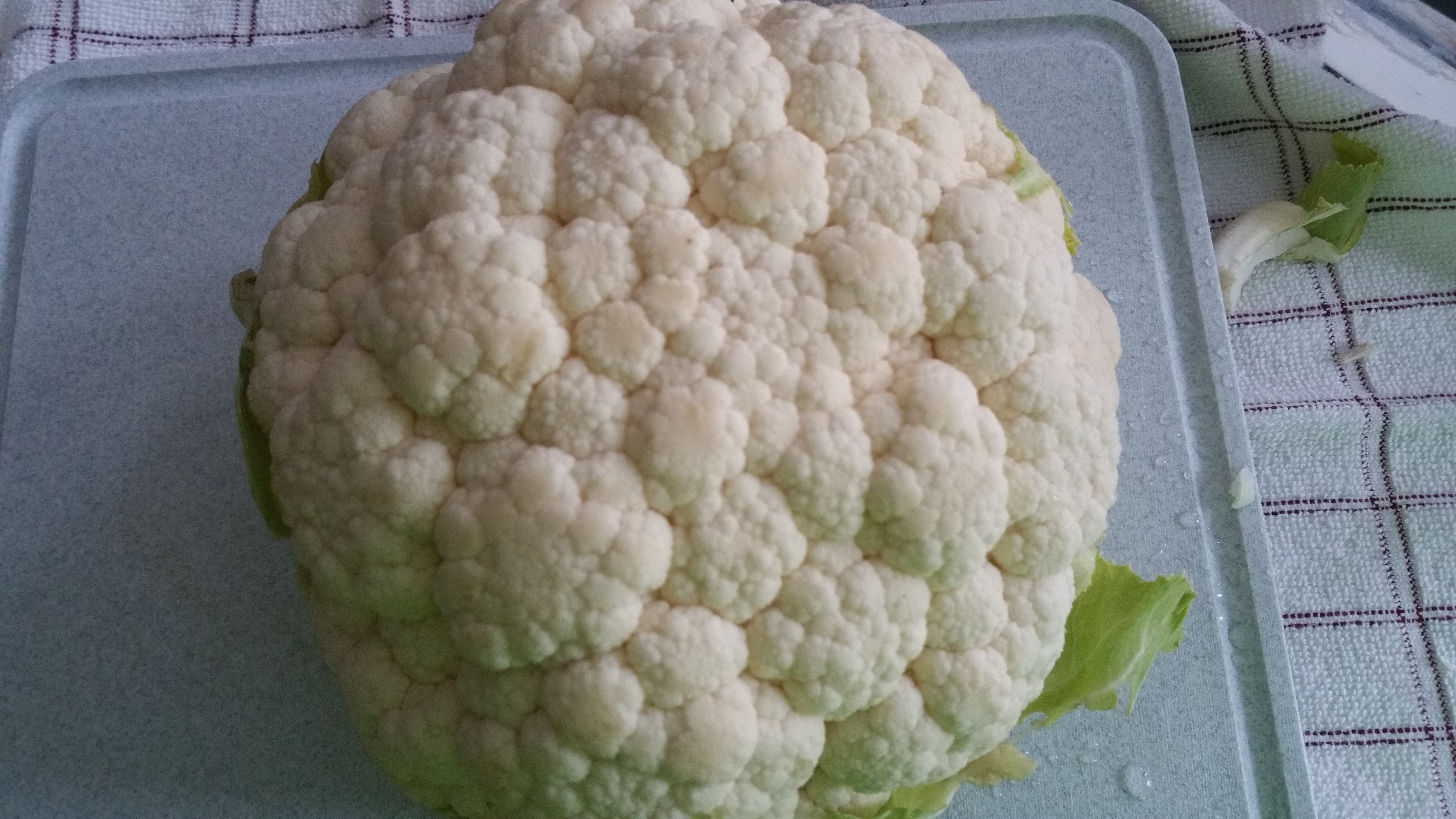 Start with Cauliflower