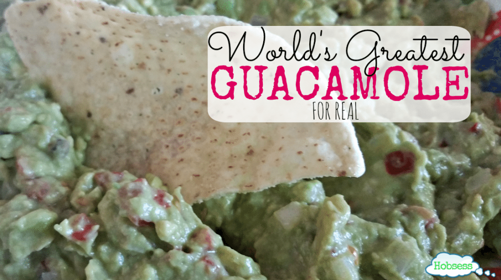 World's Greatest Guacamole
