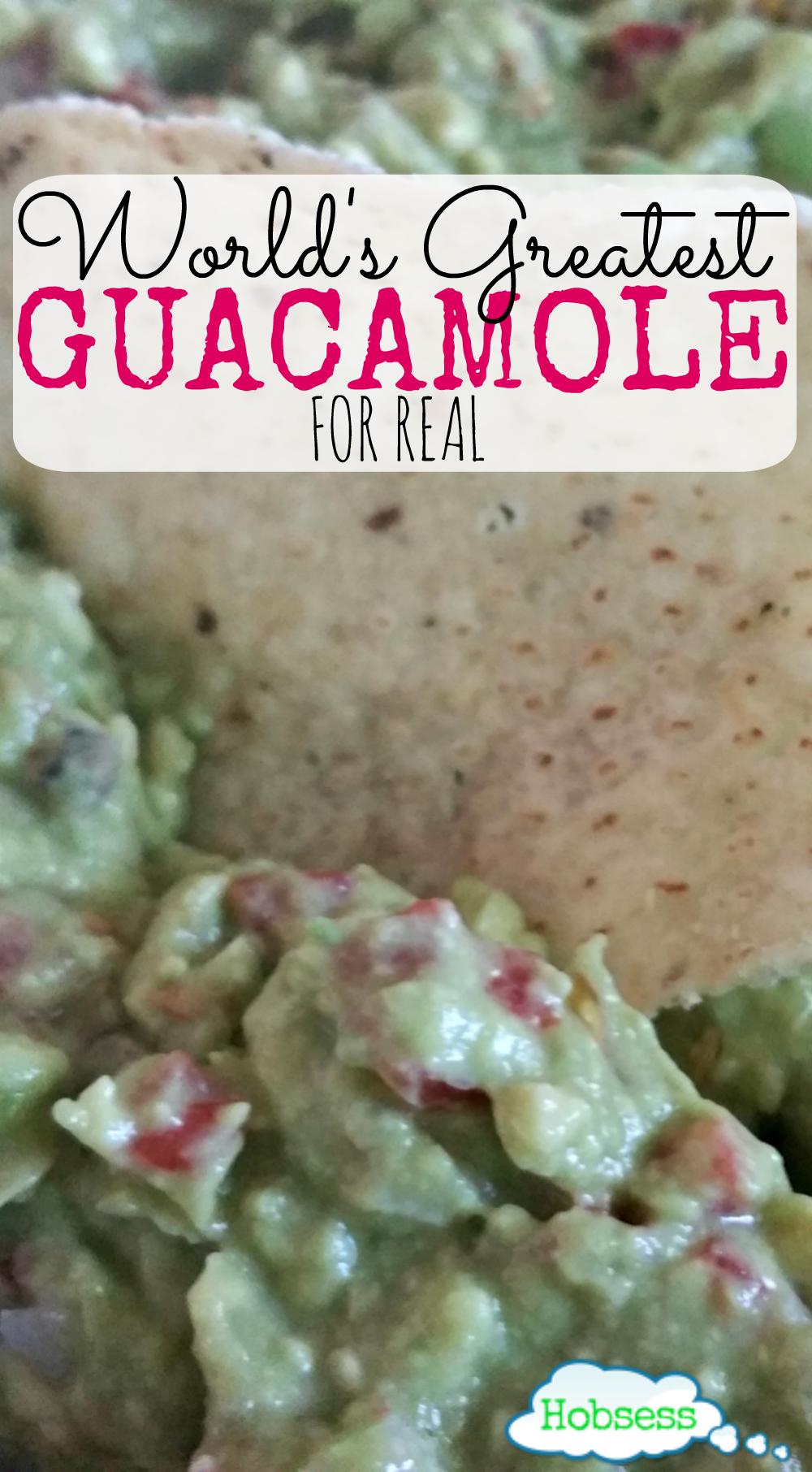 Secrets of Making the World's Greatest Guacamole